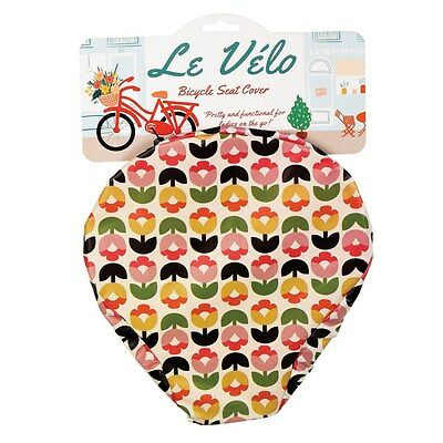 Dotcomgiftshop TULIP BLOOM BICYCLE SEAT COVER • 4.95£
