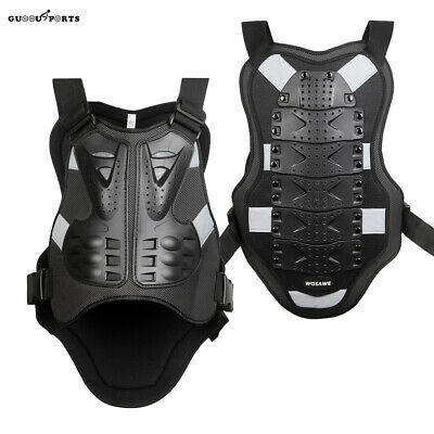 Motorcycle Spine Back Protector Body Armor Vest Support Guards Protective Gear • 19.58£