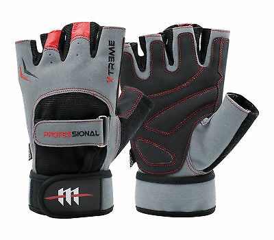 Professional Xtreme Cycling Cycle Gloves Padded Palm For Comfort Biking Biker  • 6.99£