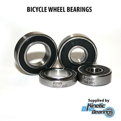 QUALITY BICYCLE WHEEL BEARINGS (to Fit Easton, DT Swiss, FSA, Hope, Mavic Etc.) • 3.49£
