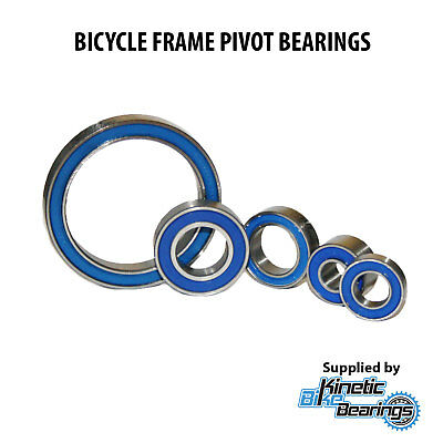 BICYCLE FRAME PIVOT BEARINGS (Max Complement, Bike, Full Suspension) • 5.50£