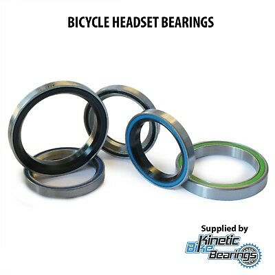 BICYCLE HEADSET BEARINGS (to Fit Cane Creek, FSA, Hope, VP, Overdrive Etc.) • 6.49£