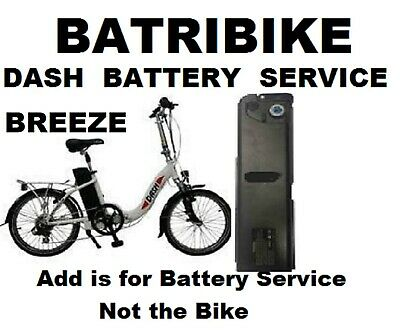 Batribike Dash Electric Folding Bike BATTERY SERVICE • 399.99£
