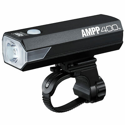 Cateye AMPP 400 Front Bike/Cycle Light • 23.96£