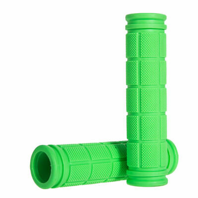 NEW UK BMX MTB Cycle Mountain Bicycle  Scooter Bike Handle Bar Grips SOFT GREEN • 2.59£