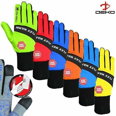 Touch Screen Full Finger Windproof Flex Warm Winter Cycling Bike Cycle Gloves  • 6.99£