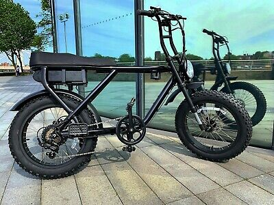 250W Electric Bike - With Pedal Assist - 2 Seater, Full Throttle And Fat Tyres • 1,500£