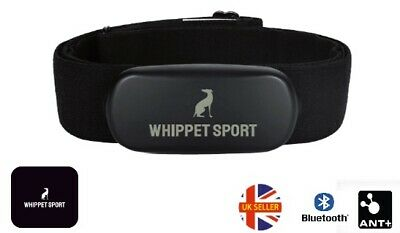 Heart Rate Monitor Chest Strap Ant + Bluetooth Zwift Wahoo Garmin Compatible • 24.99£