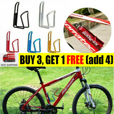 Aluminum Alloy Water Bottle Holder Sports Bike Bicycle Cycling Drink Rack CageWS • 5.99£