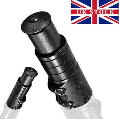 Black Bike Handlebars Riser Bicycle Fork Stem Raiser Extender Head Up Raiser UK • 6.89£