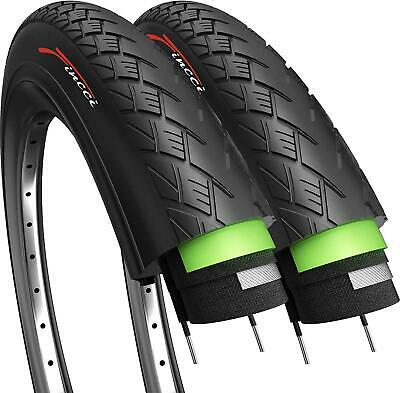 Fincci Pair 700 X 38c Tyres Antipuncture For Electric Road Mountain Bike Bicycle • 21.90£