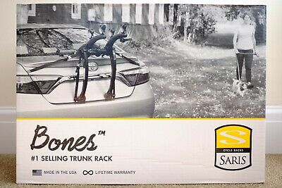 Saris Bones 2 Bike Cycle Carrier RRP £125 BRAND NEW BOXED NO RESERVE • 82£