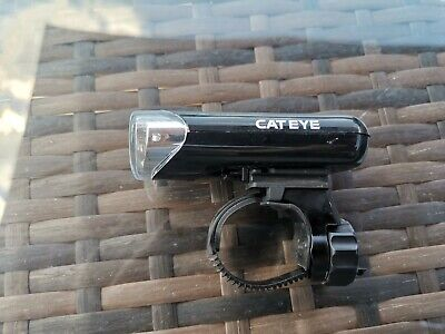 Cateye Front Bike Light With Handlebar Mount • 1.10£