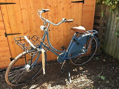 Gazelle Blue Womens Classic Bike. 5 Months Old And Barely Used • 420£