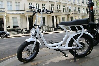 250W Electric Bike - With Pedal Assist - 2 Seater, Throttle And On Road Tyres • 1,200£