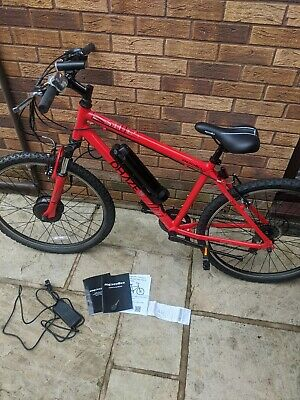 Apollo Phase Electric Bike Red Ridden Once With Battery And Charger • 540£