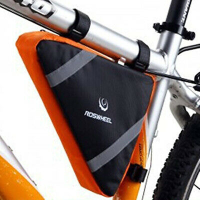 Bicycle Cycling Triangle Storage Bag Bike Front Tube Frame Bags Waterproof Pouch • 3.99£