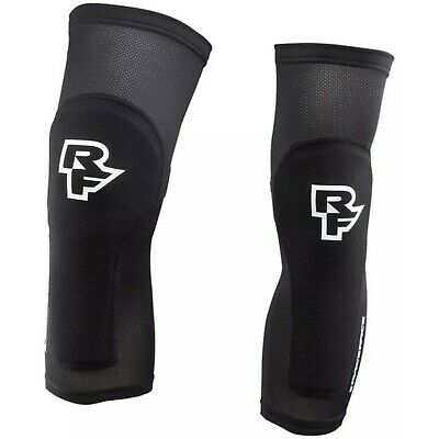 Race Face Charge Stealth Cross Country XC Trail Cycling Bike Riding Knee Guards • 35.95£