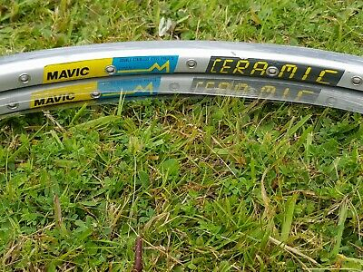 Mavic Open 4 Ceramic 36h Rims X2, New With Tags, In Shrink Wrap • 150£
