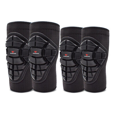 Youth Knee Protector Guards Elbow Pads MTB Mountain Biking Protective Gear Child • 34.19£
