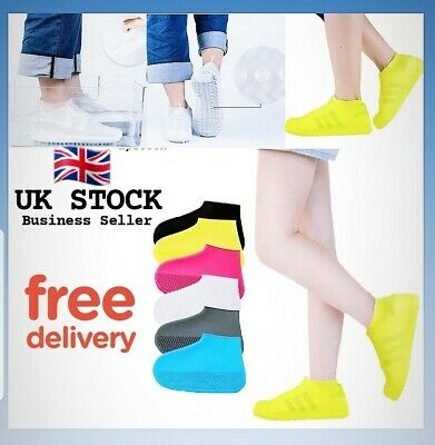 Silicone Overshoes Rain Waterproof Shoe Protector Reusable Boot,Trainer Cover  • 4.99£
