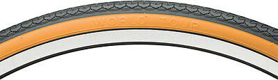 New Michelin World Tour GUM Wall Bicycle Tyre - 26 X 1 3/8 (590) - RETRO • 9.99£