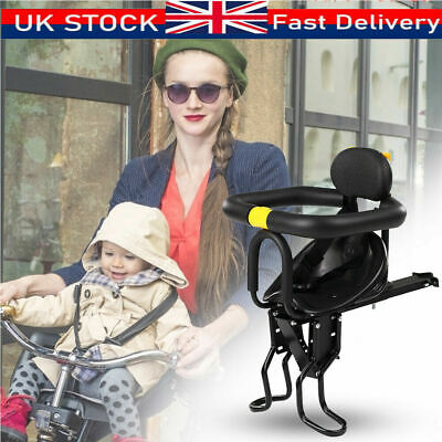 Child Bicycle Bike Front Seat Saddle Children Kid Baby Safety Carrier Chair • 20.99£