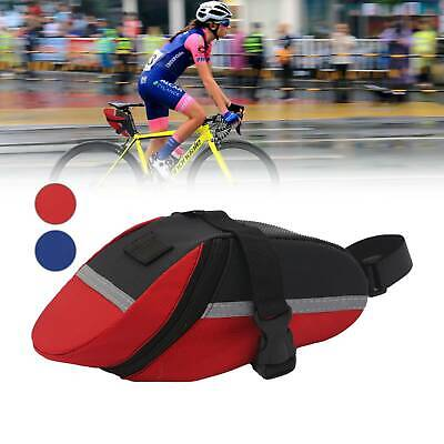 Waterproof Outdoor Bicycle Storage Saddle Bag Bike Seat Cycling Rear Pouch -UK • 4.59£