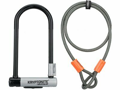 Kryptonite Standard U-Lock And Kryptoflex Cable • 9.99£