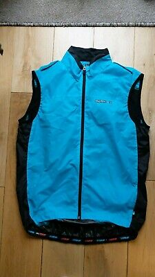 Madison Sportive Windproof Mens Cycling Gilet - Blue • 40£