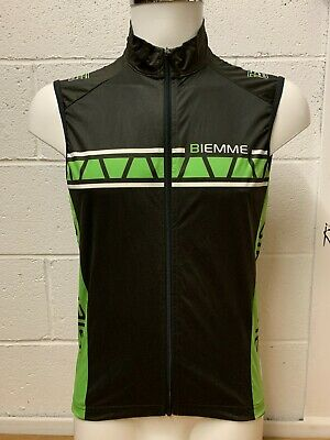 Biemme Windproof Cycling Gilet With Mesh Back & 3 Pockets BNWT RRP £60 • 15£