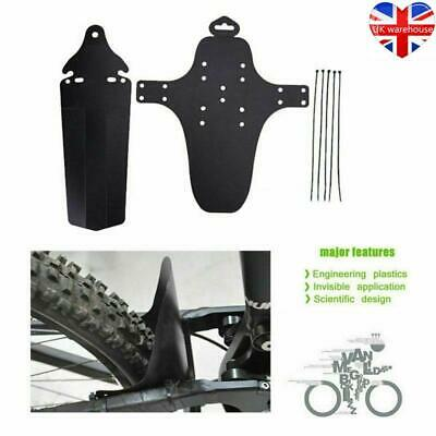 1 Set Cycling MTB Mountain Bike Bicycle Front + Rear Mud Guards Mudguard Fenders • 5.64£