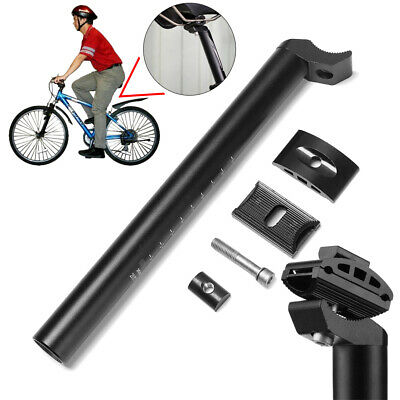 Adjustable Bicycle Seat Tube Bike Seatpost Seat Post Support Stem Metal Alloy • 6.46£