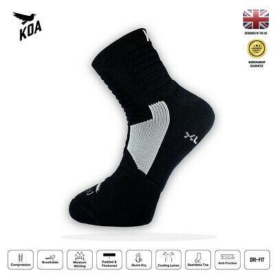 KOA® ELITE Performance Cushioned Cycling And Running Socks For Autumn & Winter • 6.95£