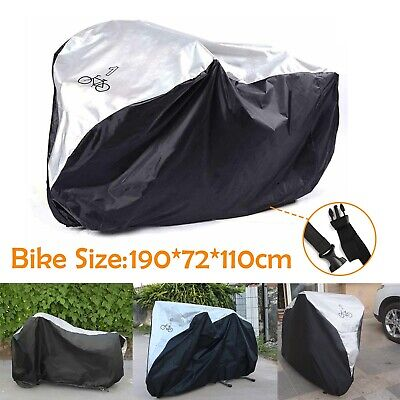 1 Bicycle Waterproof Rust  Bike Cycle Cover Waterproof Anti Rain UV Protection • 8.99£