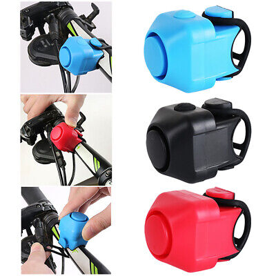 Electric Bicycle Horn Cycling Bike Bell Safe Bicycle Sound Bicycle Accessories • 3.99£