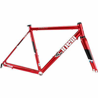 Cinelli Experience Alloy With Carbon Forks Frame-set Size 53cm Medium. • 250£
