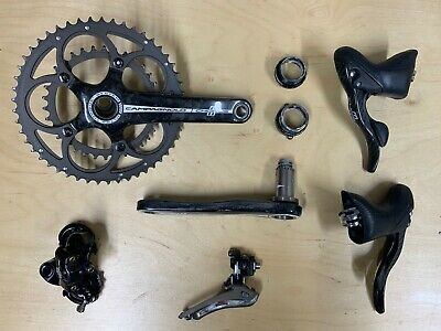 Campagnolo Chorus Carbon Groupset 11 Speed. (No Brake Calipers Or Cables) • 310£