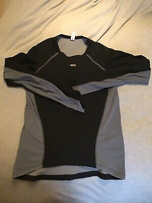 Assos Long Sleeve Thermo Base Layer - Size M (Very Tight Fit More A Small) • 10£