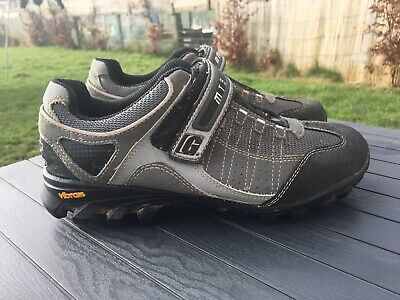 Gaerne Vega MTB Cycling Shoes Size 42 UK 8.5 Vibram Sole, Two Screw Clip In • 0.95£