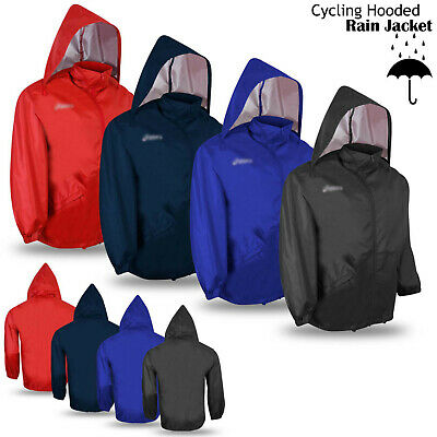 Cycling Rain Jacket Hoodie Outdoor Running Long Sleeve Jacket - CLEARANCE STOCK • 6.99£