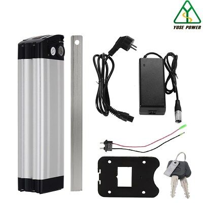36V15Ah Lithium-ion Battery E-bike Silver Fish With Cellphone Charging USB • 199.90£