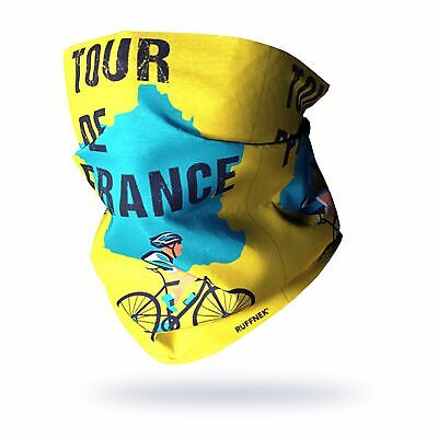 RUFFNEK® Tour De France - Tube Scarf/Tour De Cou/ Face Mask • 12.85£