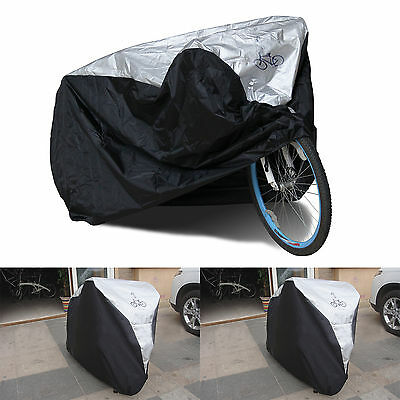 Waterproof Rust Prevention Cycle Bicycle 1 Bike Rain Resistant Cover Garage • 7.69£