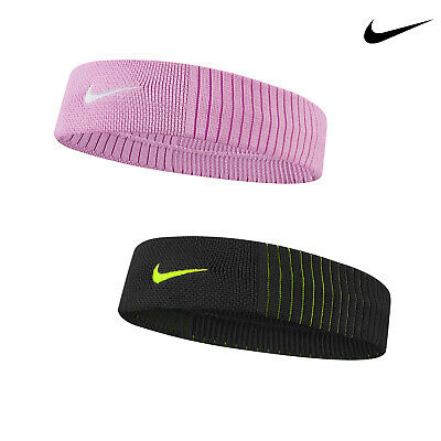 Nike Low Profile Dri-Fit Reveal Headband (NK412) - Lightweight Sweat-Wicking • 18.69£