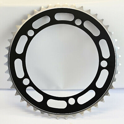 Old School BMX Chainring 5 Bolt  130BCD Black • 17.99£