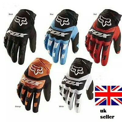FDS Cycling Gloves Racing Biking Motorcycle Motorbike Dirtpaw Bicycle MTB FOX • 14.99£