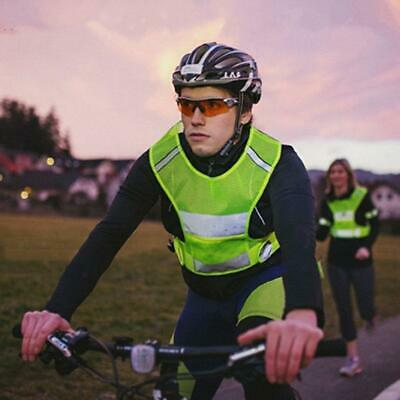Top High Visibility Breathable Mesh Hi Viz Reflective Running Cycling Sport Vest • 13.99£