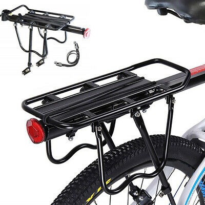 Bicycle Outdoor MTB Mountain Bike Black Rear Pannier Carrier Rack Seat Post Kits • 15.97£