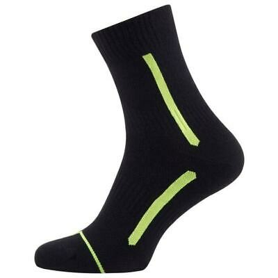 Sealskinz Road Max Coolmax Ankle Socks Cycling Size S/M UK 3-8 Black/Fluo Yellow • 7.99£